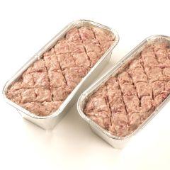Wild-Brät, 700 Gramm, Fleischkäse zum selber backen