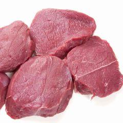 Hirsch Steak aus der Keule