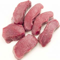 Hirsch Rücken Steak